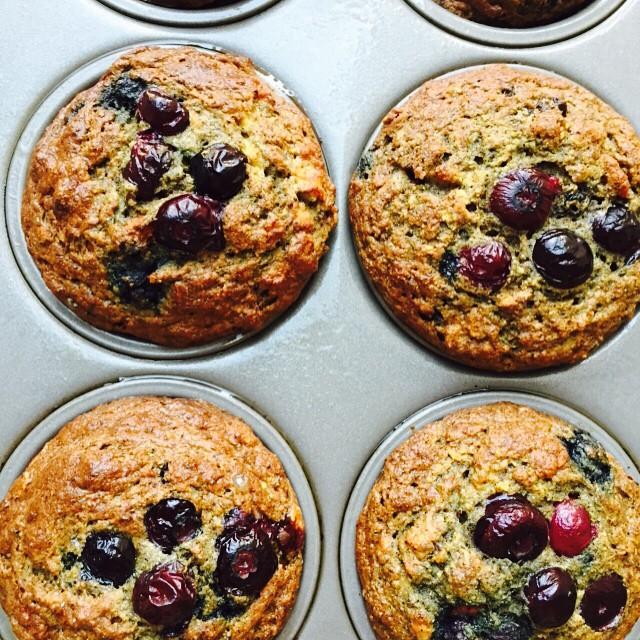 Quinoa Superfruit Muffins