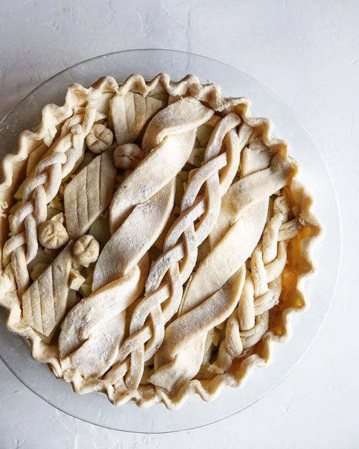 Brrrr, Cozy Irish Cable Knit Sweater vibes needed today in the form of a Cardamom Apple Pie with…