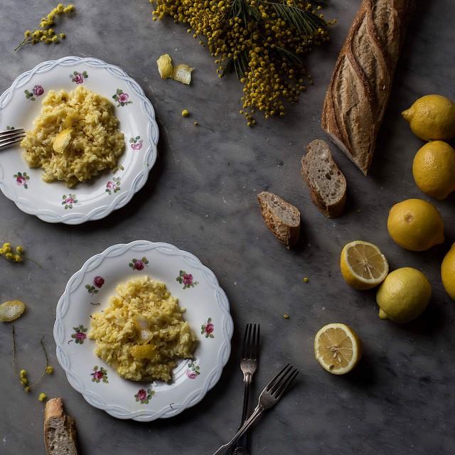 Lemon & Saffron Scented Risotto