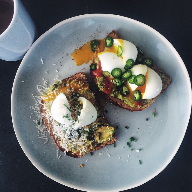 Breakfast Toasts With Eggs