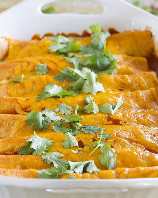 Turkey Enchiladas
