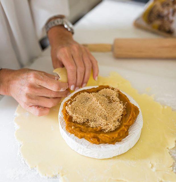 Pumpkin Pie Baked Brie