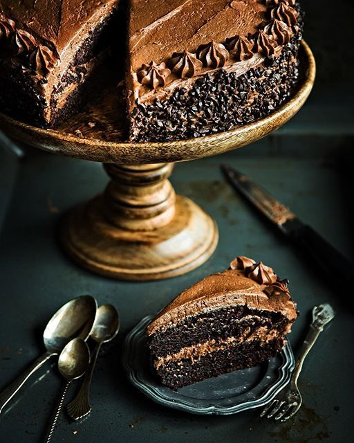 Fantastic Decadent Chocolate Birthday Cake Recipe By Rakhee Yadav The Feedfeed Funny Birthday Cards Online Overcheapnameinfo