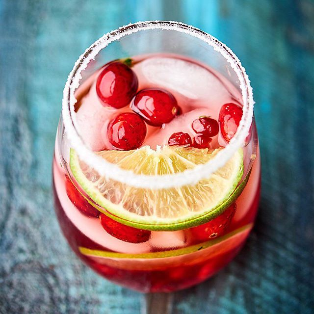 Sweet, tart, and perfect for the holidays , this Easy Cranberry Pomegranate Margarita can be enjoyed…