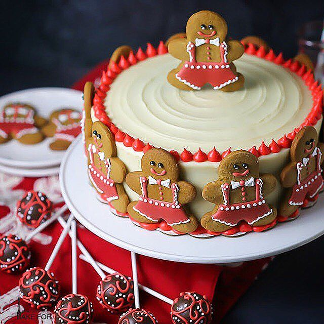 Grandmas Gingerbread Cake With Cream Cheese Frosting