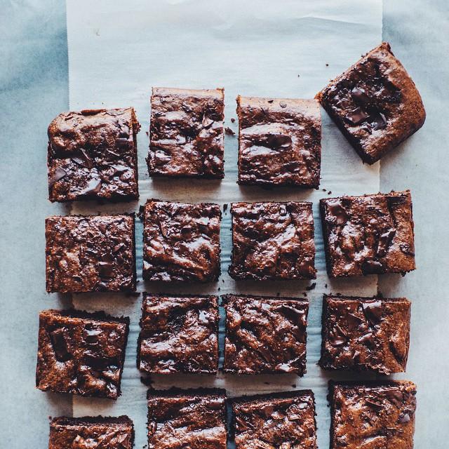 Homemade Hazelnut Butter Brownies
