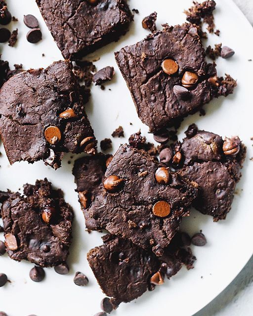 Flourless Black Bean Brownies By Theblissfulbalance Quick Easy Recipe The Feedfeed