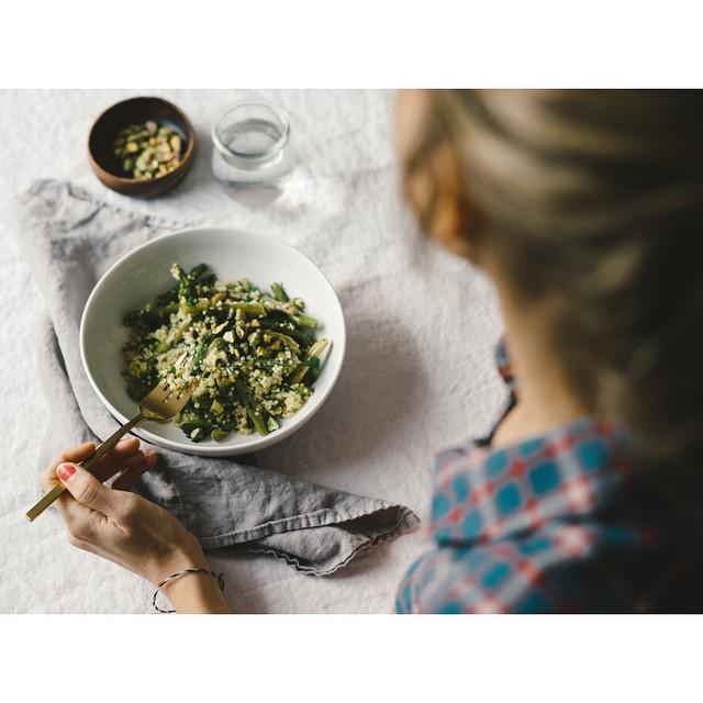 Spring Asparagus & Millet Salad