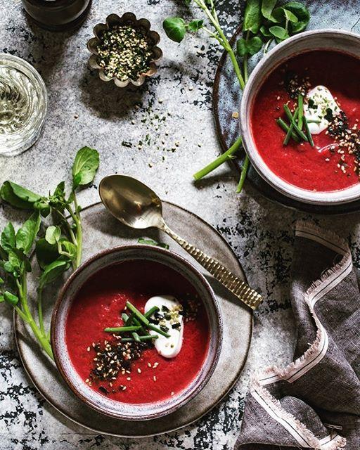 Asian Beet Soup