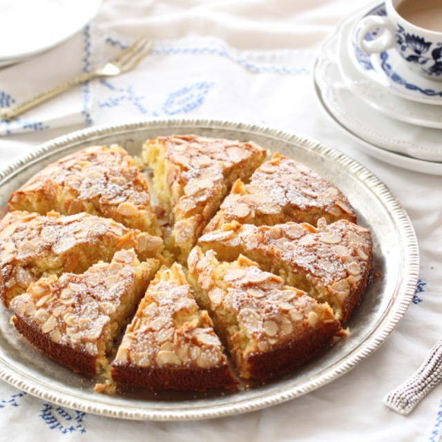 Almond Cake With Coconut And Orange
