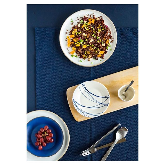 Breakfast Quinoa Salad With Sumac And Berries