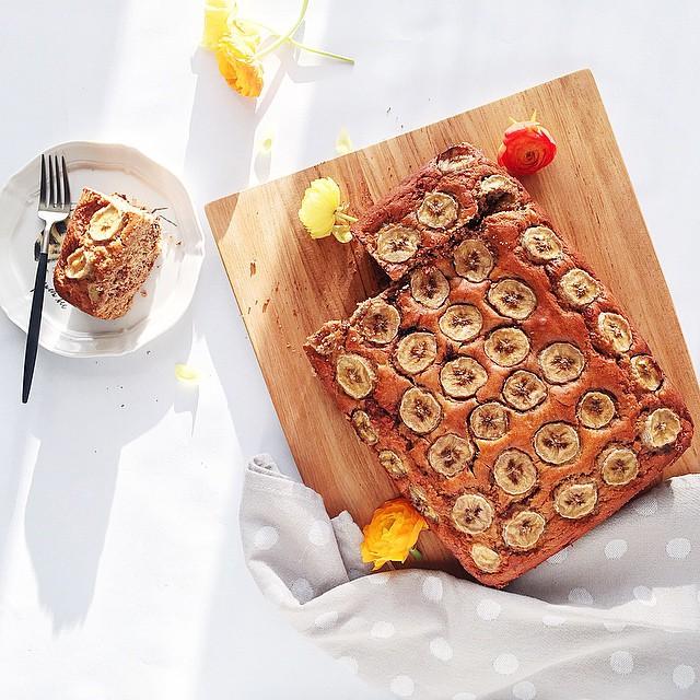 Gluten Free Nutella Banana Bread