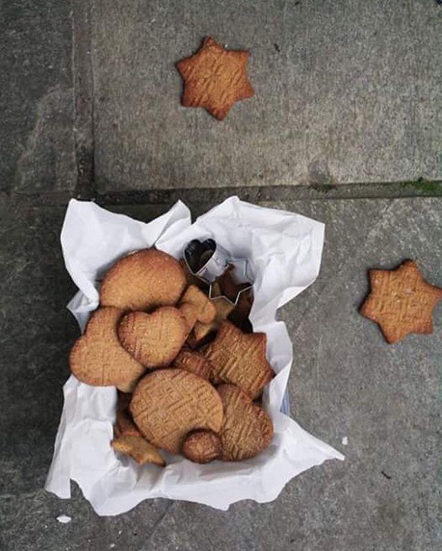 Rye Gingerbread Cookies