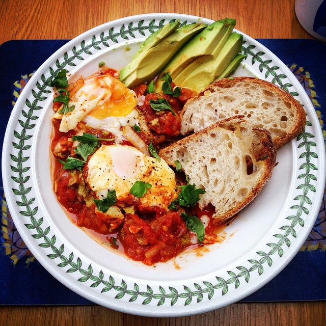 Shakshouka With Avocado