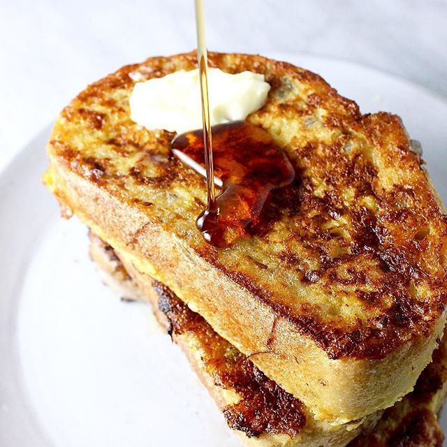 Eggnog Challah French Toast Recipe Thefeedfeed Com