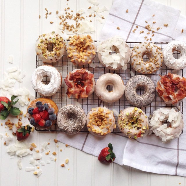Donuts With All The Toppings