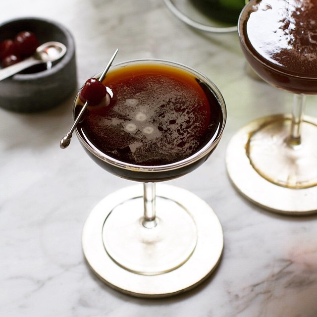 Classic Black Velvet Cocktail