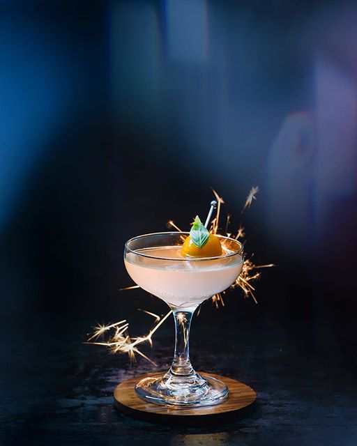The Tokyo Sparkler! A New Years magic cocktail with sake, kumquat syrup, and tonic. Add a few…