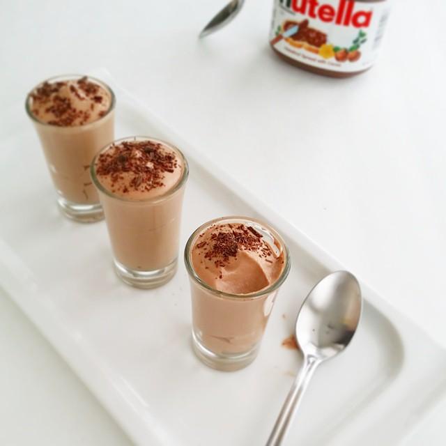 2 Ingredient Nutella Mousse