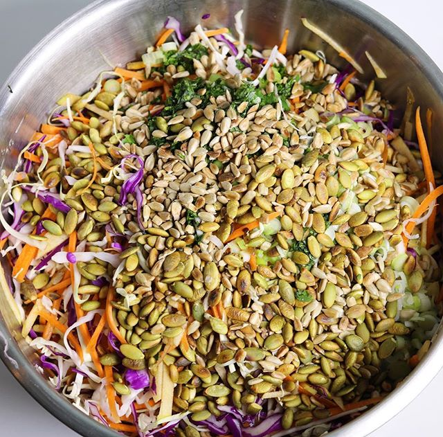 Hello Monday, January 2nd. Oh, how my body needs this detox slaw.