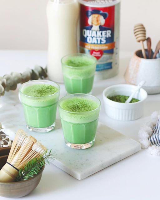 Matcha Latte With Oat Milk Recipe