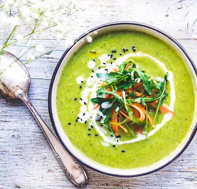 Green Pea Broccoli Soup