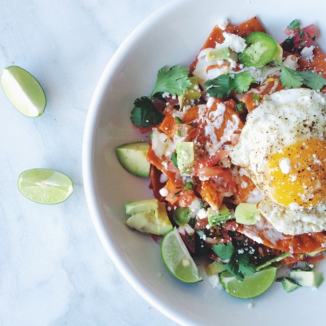Weeknight Chilaquiles