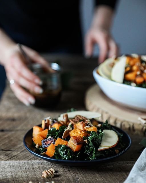 Kale And Roasted Butternut Salad