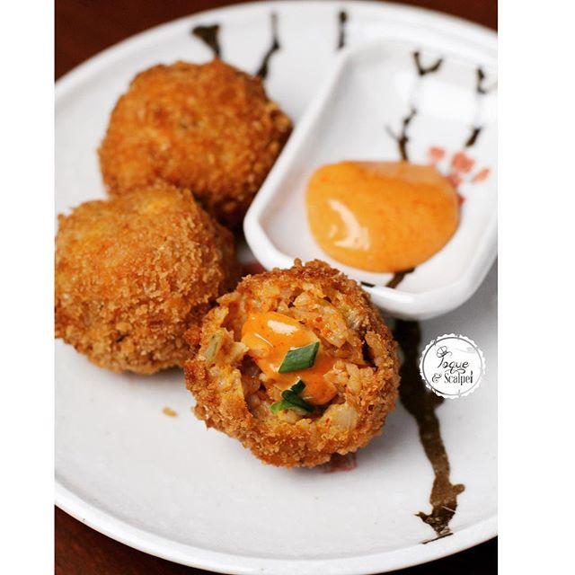 Chicken Fried Rice Balls