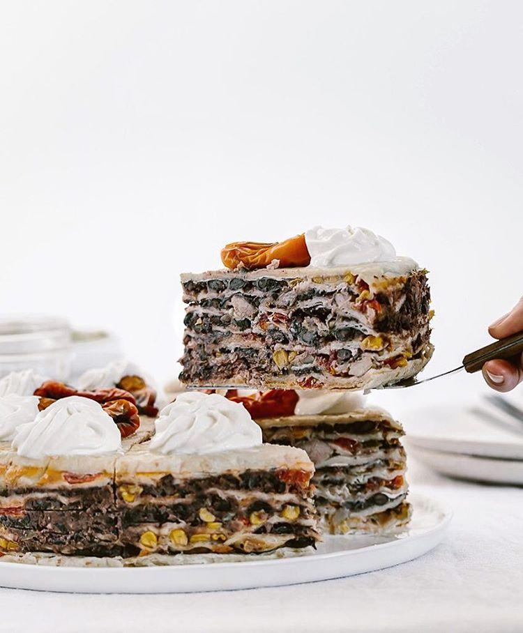 Quesadilla Cake Recipe