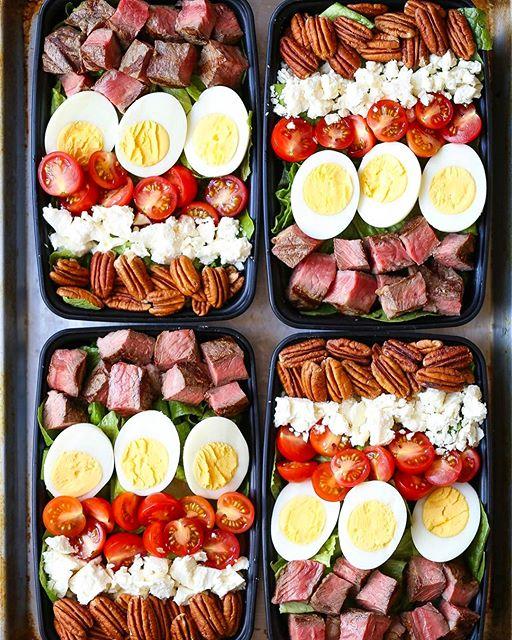 Steak Cobb Salads