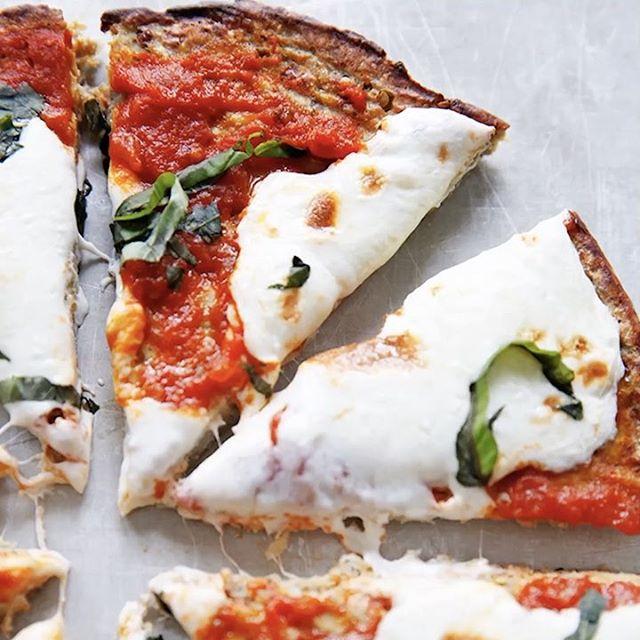 Pizza With Eggplant Crust
