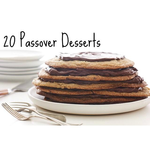 Top Twenty Passover Desserts