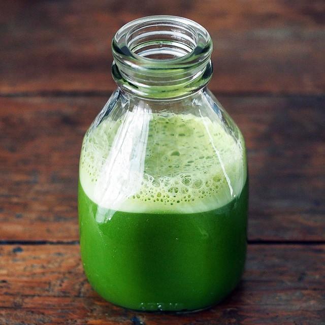 Green Dandelion Juice