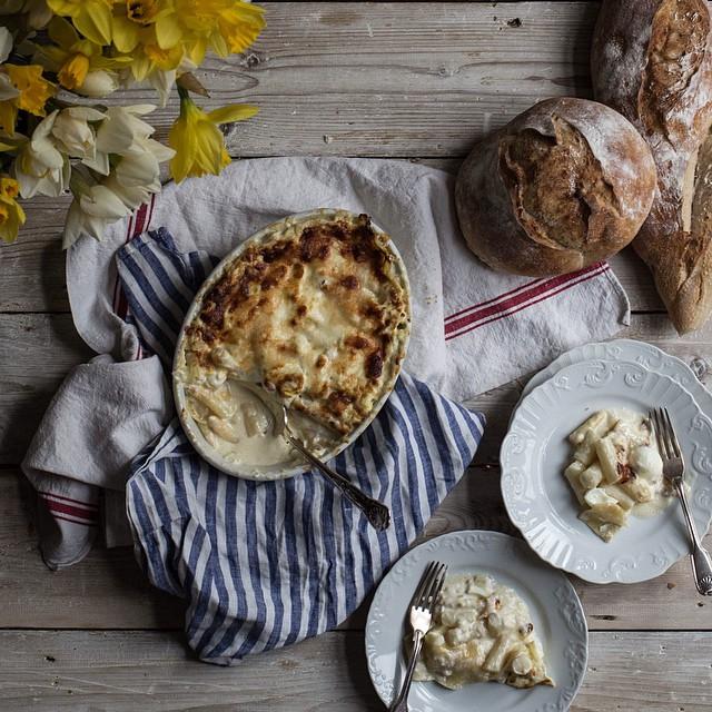 White Asparagus & Taleggio Cheese Lasagna