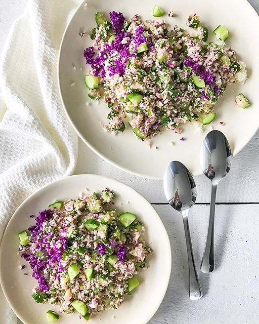 Herbed Tabbouleh With Cauliflower