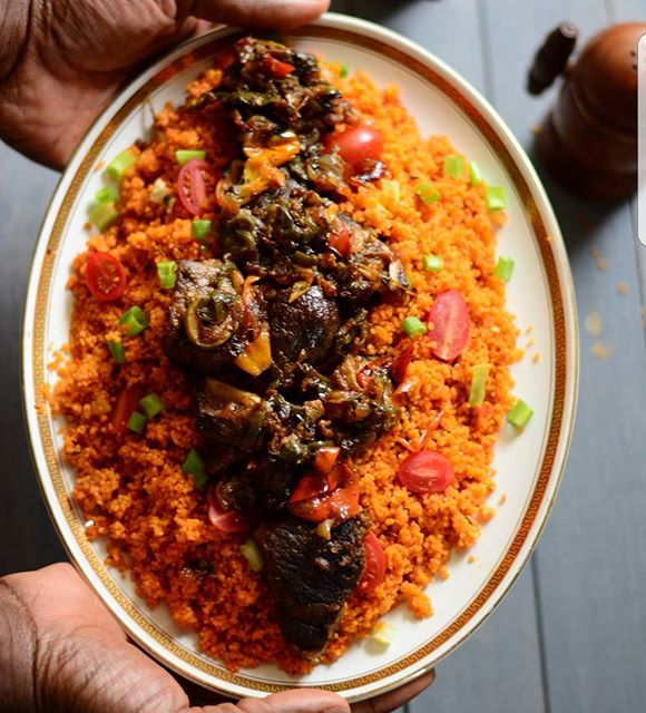 Jollof is literally one of my favorites, but sometimes I don't have enough time for the rice. The…
