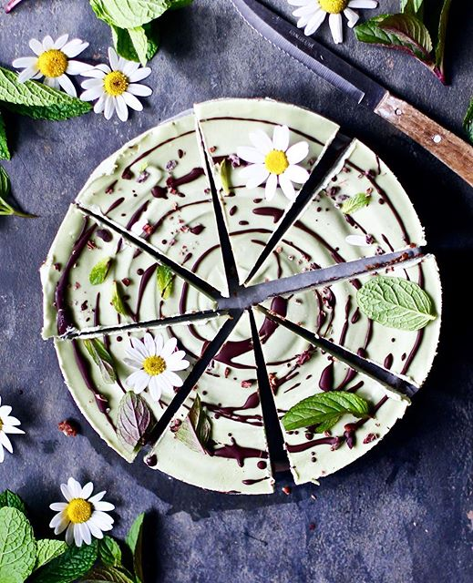 Peppermint And Chocolate Brownie Tart