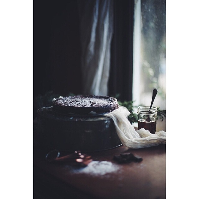 Swedish Flourless Chocolate Cake