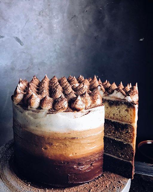 Tiramisu Layer Cake TheFeedFeed