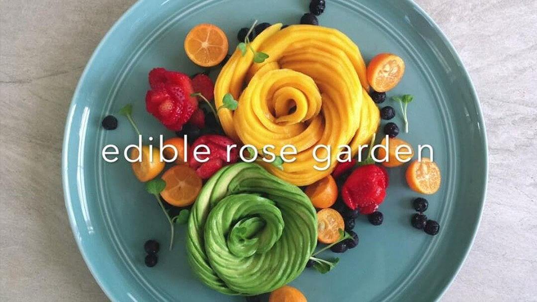 Edible Rose Garden