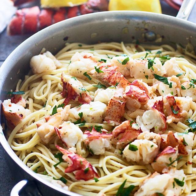 Lobster Scampi Pasta