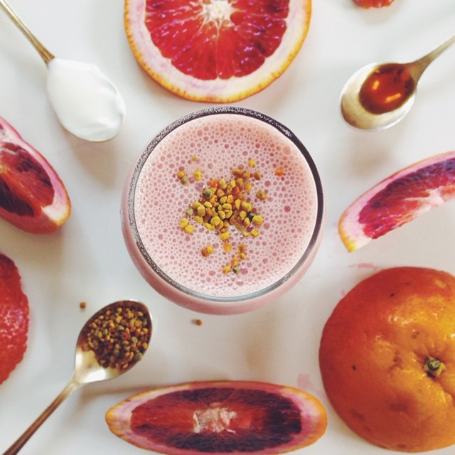 Probiotic Blood Orange Creamsicle Smoothie