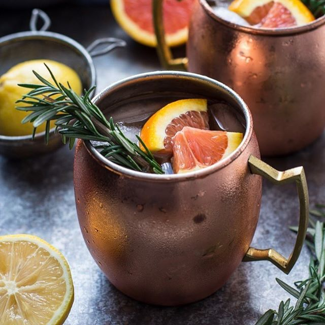Citrus Moscow Mule With Rosemary Simple Syrup recipe by Jennie ...