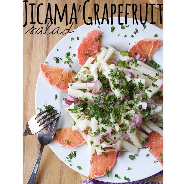 Jicama Grapefruit Salad