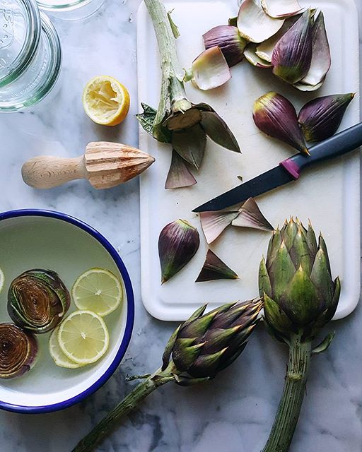 Artichokes In Olive Oil With Herbs