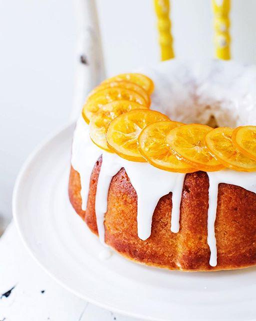 Lemon Glazed Bundt Cake Recipe
