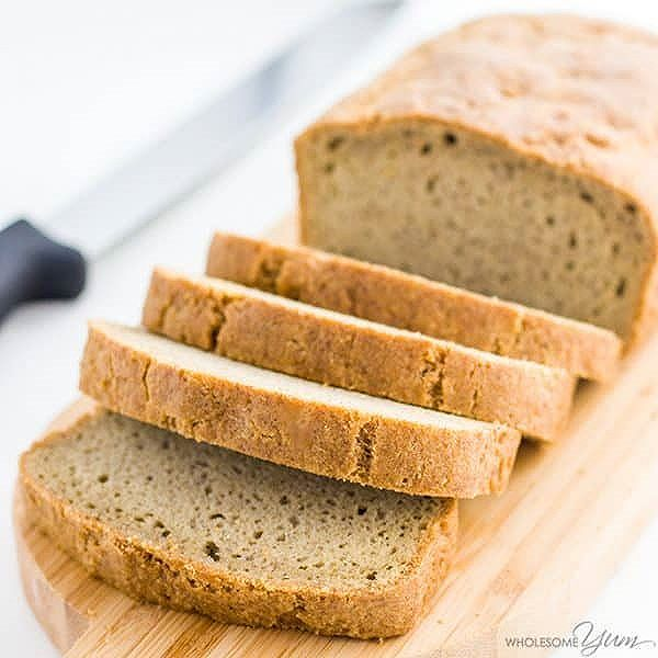 This almond flour bread may be the best low carb bread recipe yet! The texture is just like wheat…