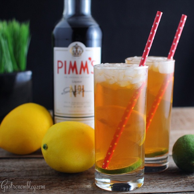 Pimm's Cup Gin Cocktail