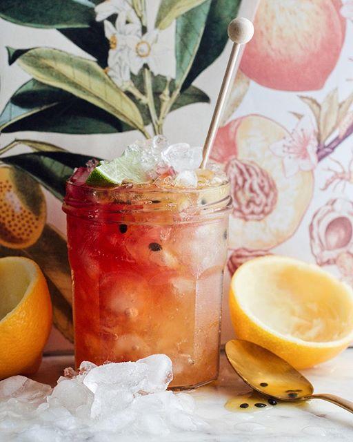 Passion Fruit, Meyer Lemon and Cherry Daiquiri